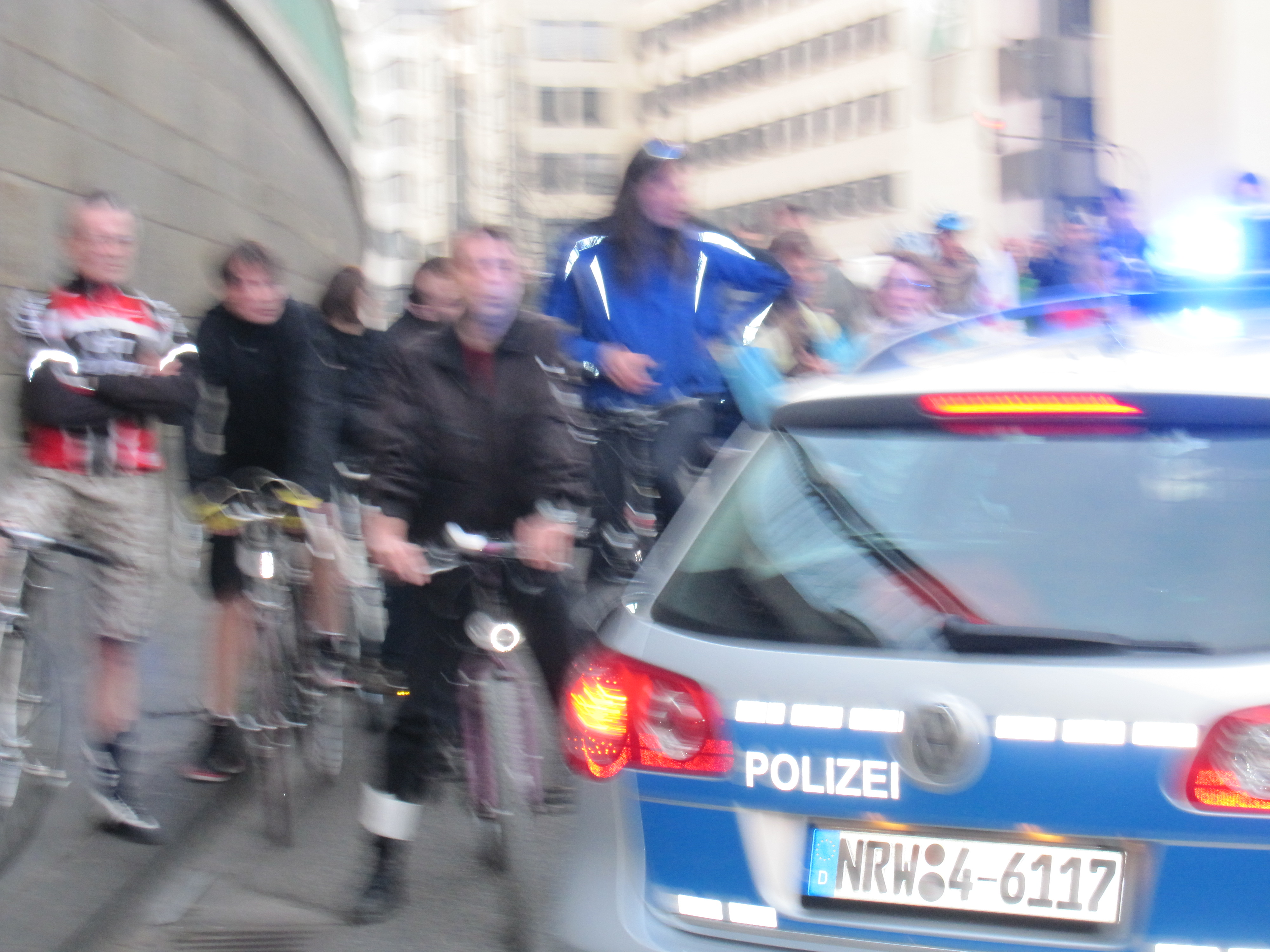 Critical Mass Cologne 2011-03-25