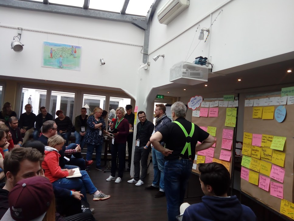 Vorstellung der Sessions, Open Space, agile.ruhr 19