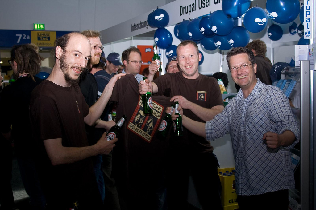Drupal Bier - thx acquia!